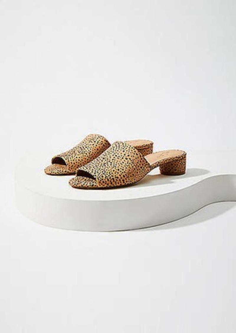LOFT Round Heel Mules