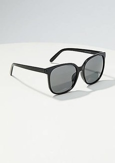 LOFT Rounded Square Sunglasses