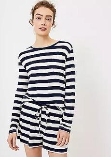 LOFT Rugby Stripe Pajama Top