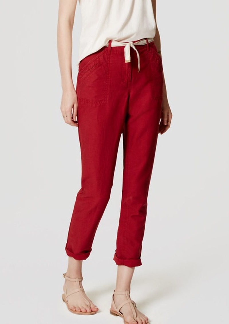 LOFT Safari Pants