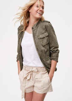 LOFT Safari Shorts