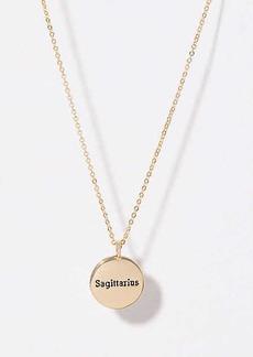 LOFT Sagittarius Pendant Necklace
