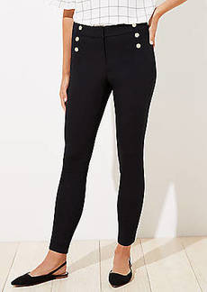 LOFT Sailor High Waist Skinny Ankle Pants in Curvy Fit