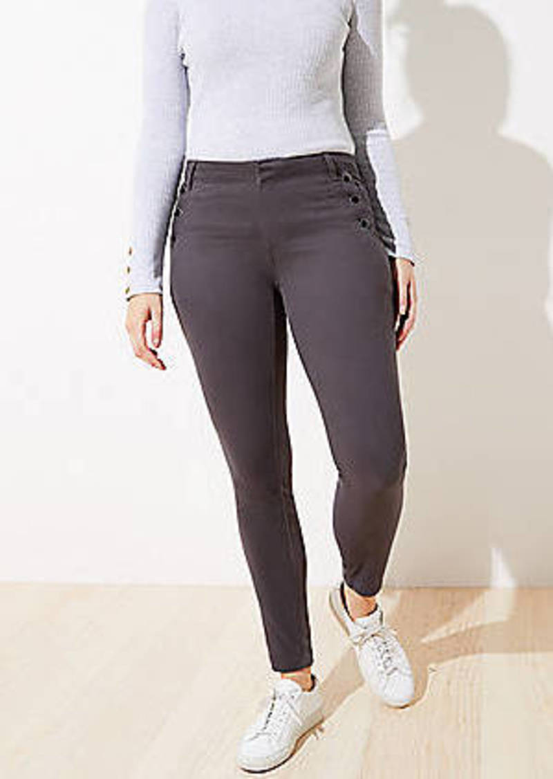 LOFT Sailor Sateen Leggings in Curvy Fit
