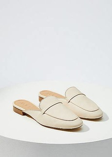 LOFT Scalloped Loafer Slides