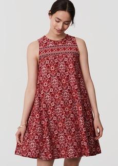 Scarlet Garden Swing Dress
