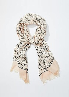 LOFT Scattered Heart Scarf