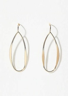 LOFT Sculpted Oval Drop Earrings