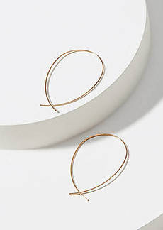 LOFT Sculptural Hoop Earrings