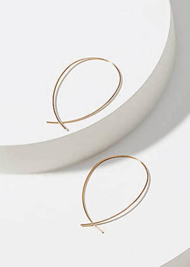 LOFT Sculptural Hoop Earrings