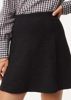 Seamed Flippy Skirt