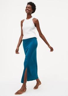 Seamed Maxi Skirt