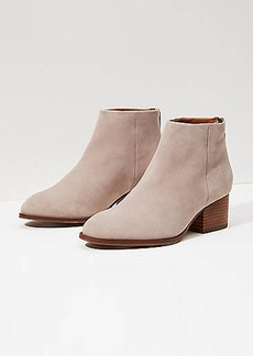 LOFT Seychelles Suede Floodplain Booties
