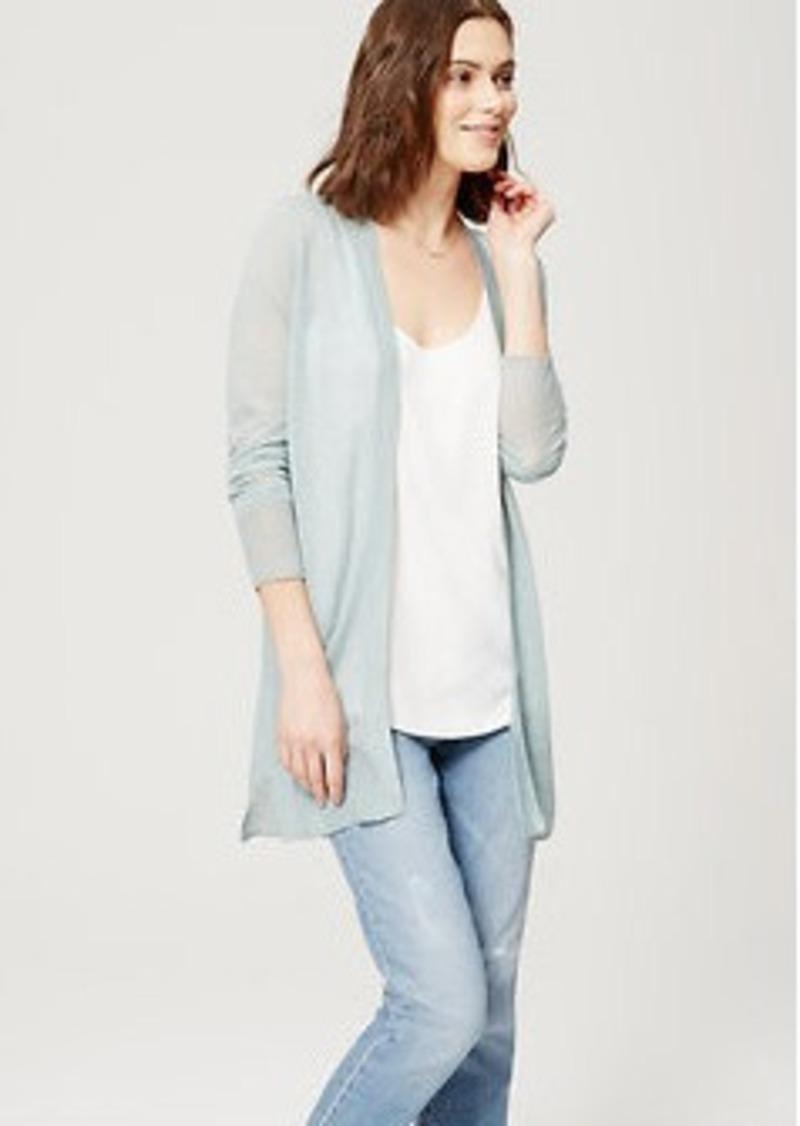 LOFT Sheer Open Cardigan | Sweaters - Shop It To Me
