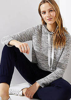LOFT Shimmer Boucle Hoodie