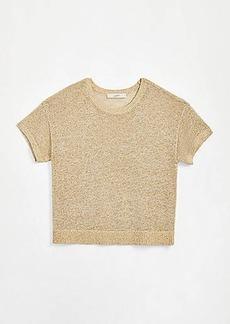 LOFT Shimmer Dolman Sweater Tee