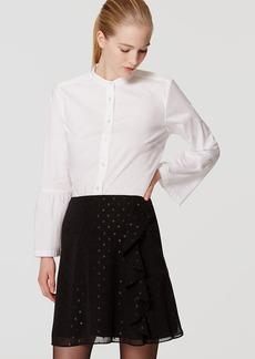 Shimmer Dot Cascade Skirt