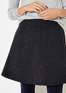 LOFT Shimmer Flippy Skirt