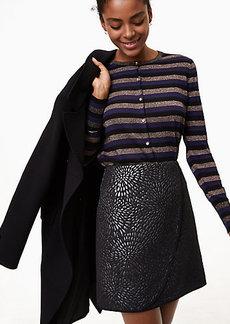 Shimmer Splash Wrap Skirt