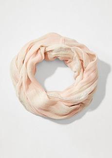 LOFT Shimmer Textured Infinity Scarf