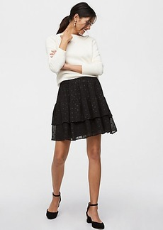 Shimmer Tile Tiered Skirt