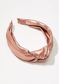 LOFT Shimmer Top Knot Headband
