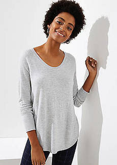 LOFT Shirttail Sweater