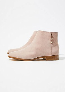 LOFT Side Button Ankle Boots