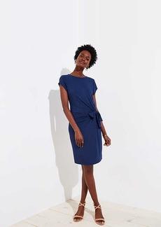 LOFT Side Tie Dress