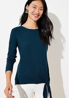 LOFT Side Tie Tunic Top