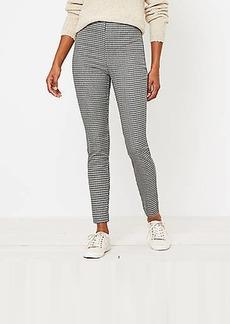 LOFT Side Zip Skinny Pants in Check