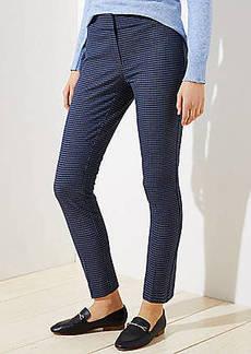 LOFT Skinny Ankle Pants in Check in Julie Fit