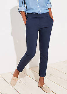 LOFT Skinny Back Slit Ankle Pants in Julie Fit