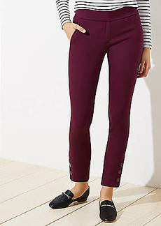 LOFT Skinny Button Cuff Ankle Pants in Julie Fit
