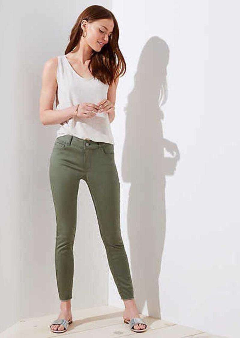LOFT Skinny Five Pocket Pants