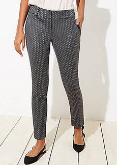LOFT Skinny Pindot Pants in Julie Fit