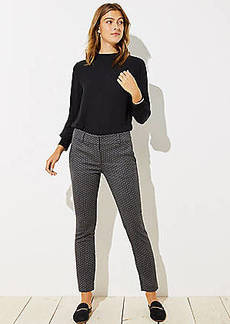 LOFT Skinny Pindot Pants in Marisa Fit