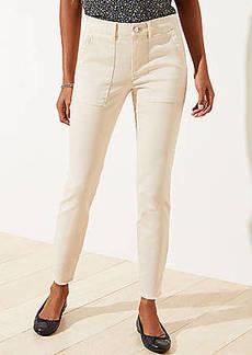 LOFT Skinny Utility Pants