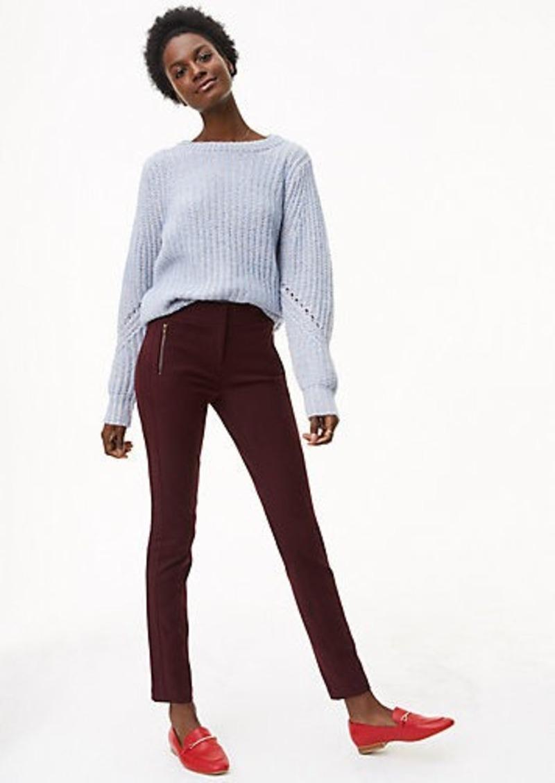 45a62db5220 LOFT Skinny Zip Pocket Bi-Stretch Pants in Marisa Fit Now  29.88