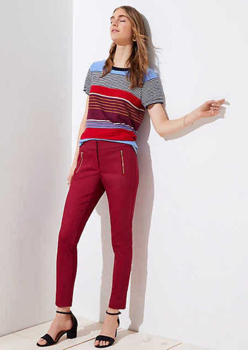 LOFT Skinny Zip Pocket Pants in Julie Fit