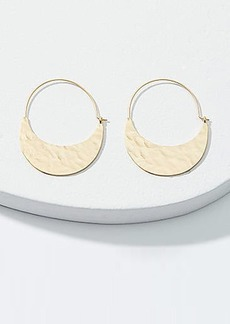 LOFT Sleek Hoop Earrings
