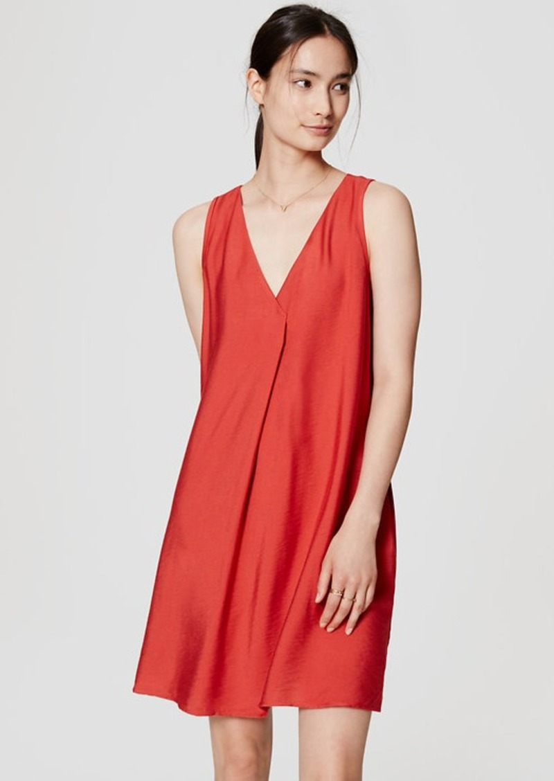 LOFT Sleeveless Swing Dress