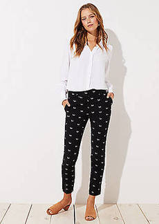 LOFT Slim Dachshund Pencil Pants in Marisa Fit