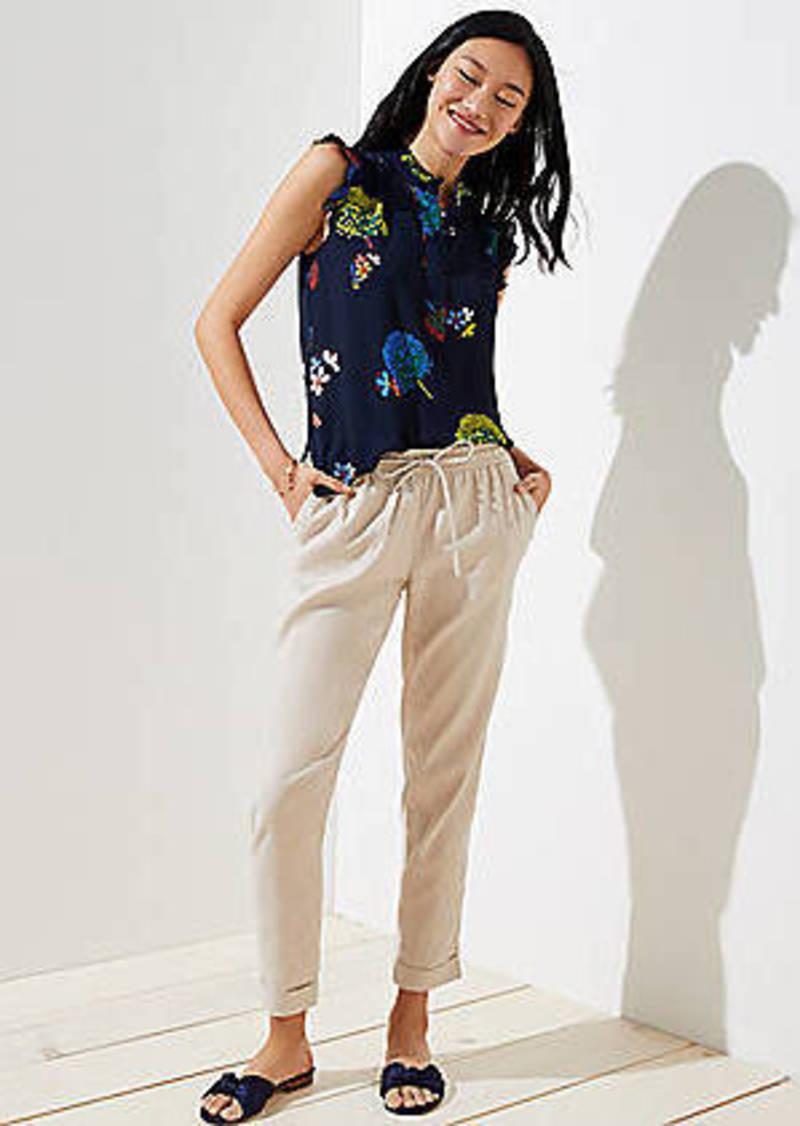 LOFT Slim Drawstring Pants
