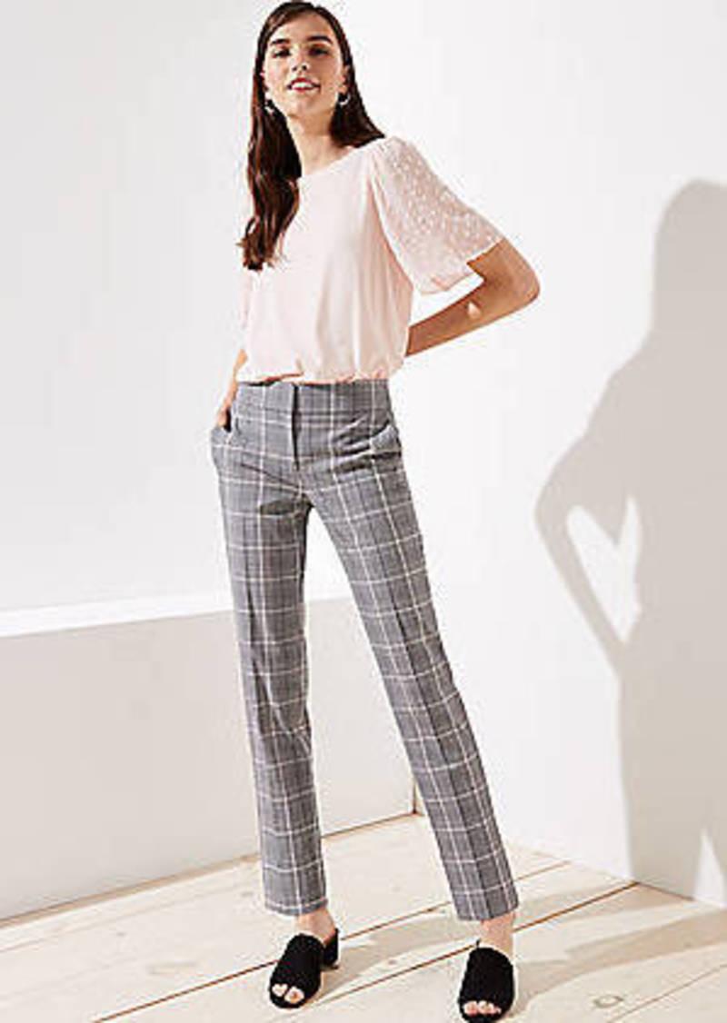 LOFT Slim Pencil Pants in Plaid in Marisa Fit