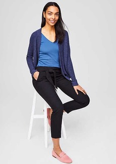 LOFT Slim Tie Waist Pants in Julie Fit
