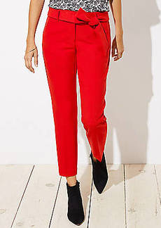 LOFT Slim Tie Waist Pencil Pants in Julie Fit