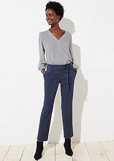 LOFT Slim Tie Waist Pencil Pants in Marisa Fit