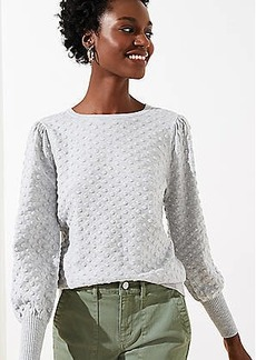 LOFT Soft Bobble Sweater