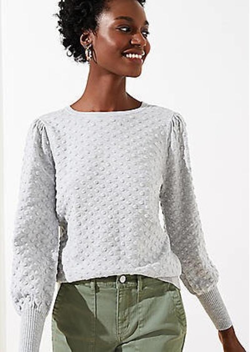 LOFT Soft Bobble Sweater
